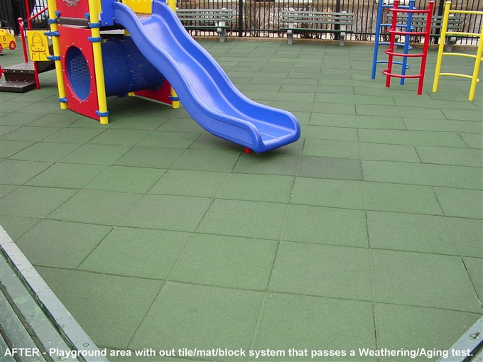 Unity Playgrounds Rubber Tiles Safety Surfacing