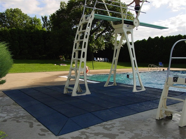 XL Series in Blue at the Princeton Park Pool