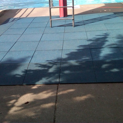 Diving Area in Sylvania, MI using Blue Pigmented Tiles