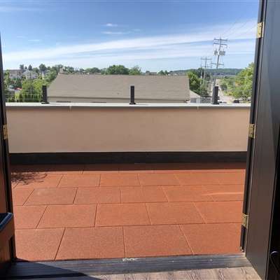 Residential Rooftop Patio Area
