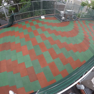 Recreational Play Space w/Swirl Designs