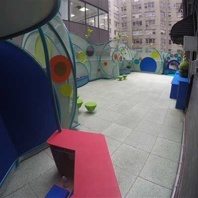 Recreational Rooftop Area for Children