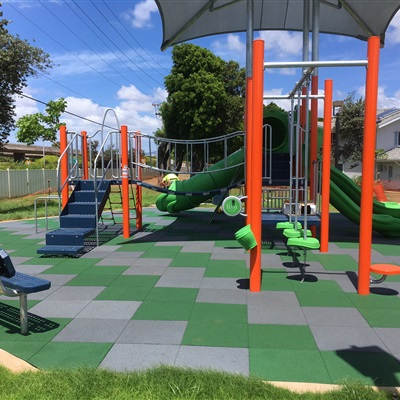 Hawaii Playground Project @ Military Base