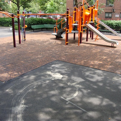 Housing Complex Custom Playground Tile