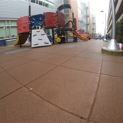 New England Daycare Center Playground at College.