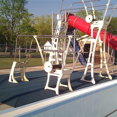 City Of Vandalia MO - Diving Board Area