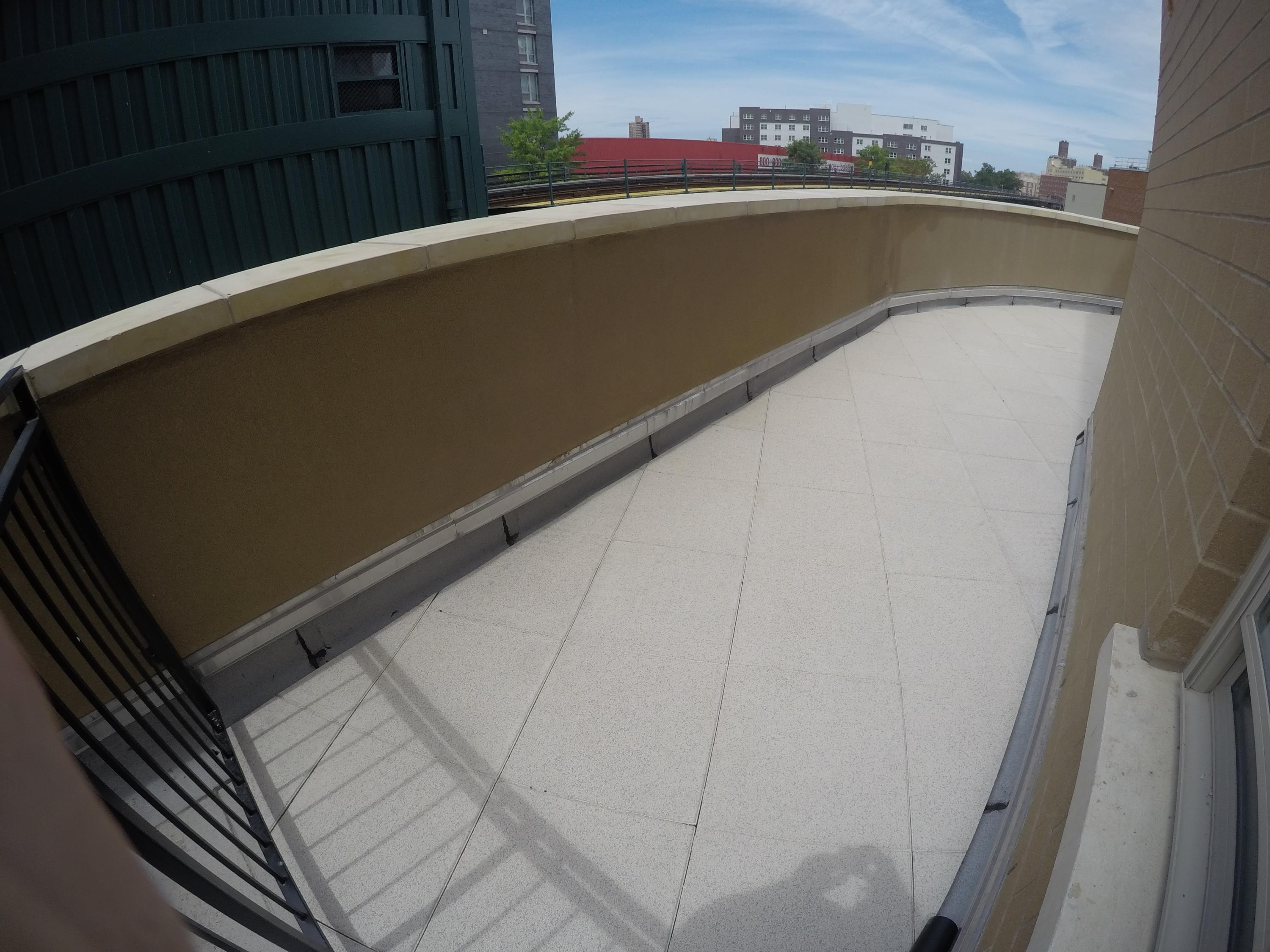 Rooftop Walkway for Tenant Access to Common Area