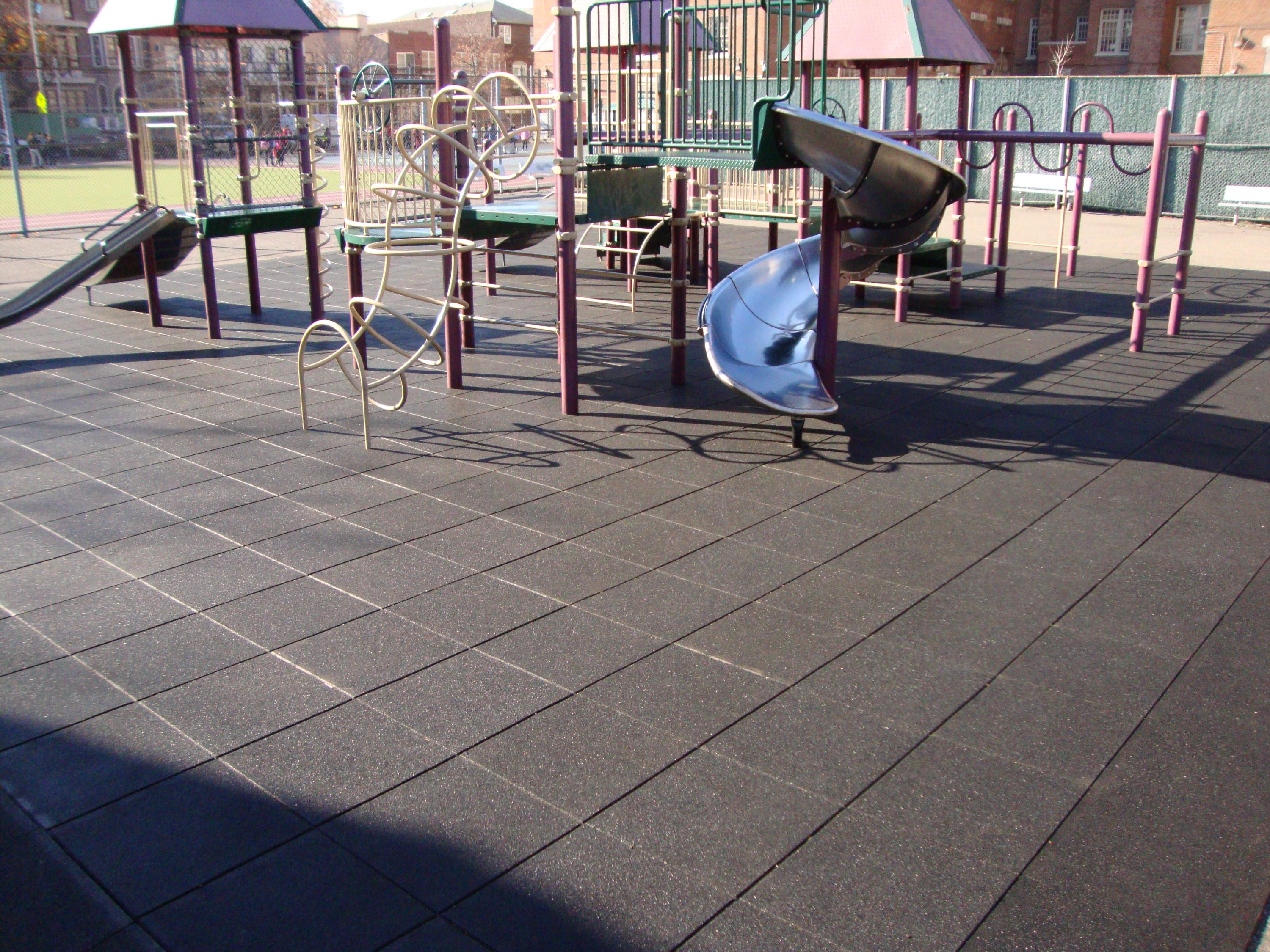 Public School Playground Surfacing that is breathable