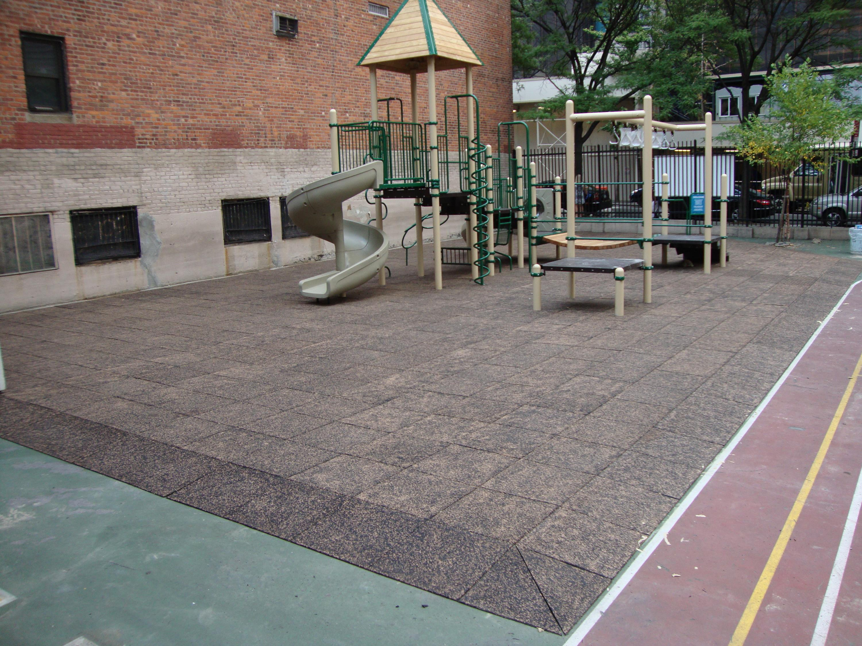 Splash Design Playground Safety Surfacing For Private School
