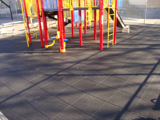 Pave-Land Series with std black at the daycare center