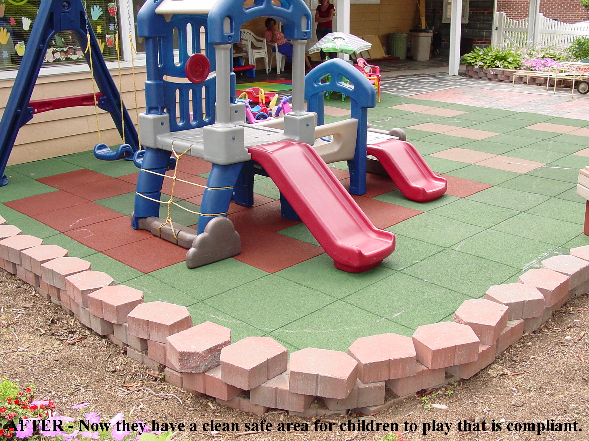 unity daycare centers safety surfacing daycare flooring