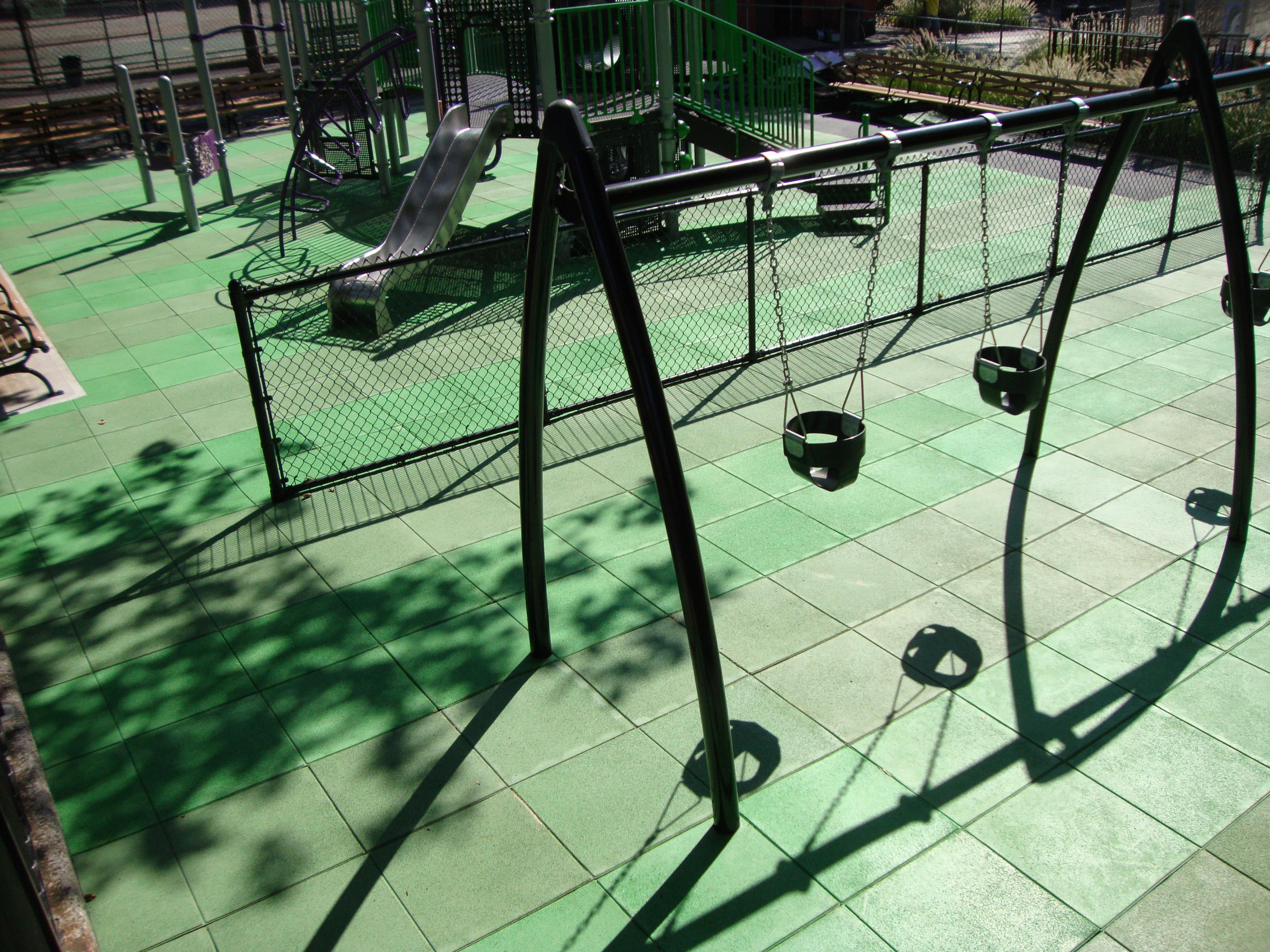 Park playground project using Unity's TPV Top Tiles