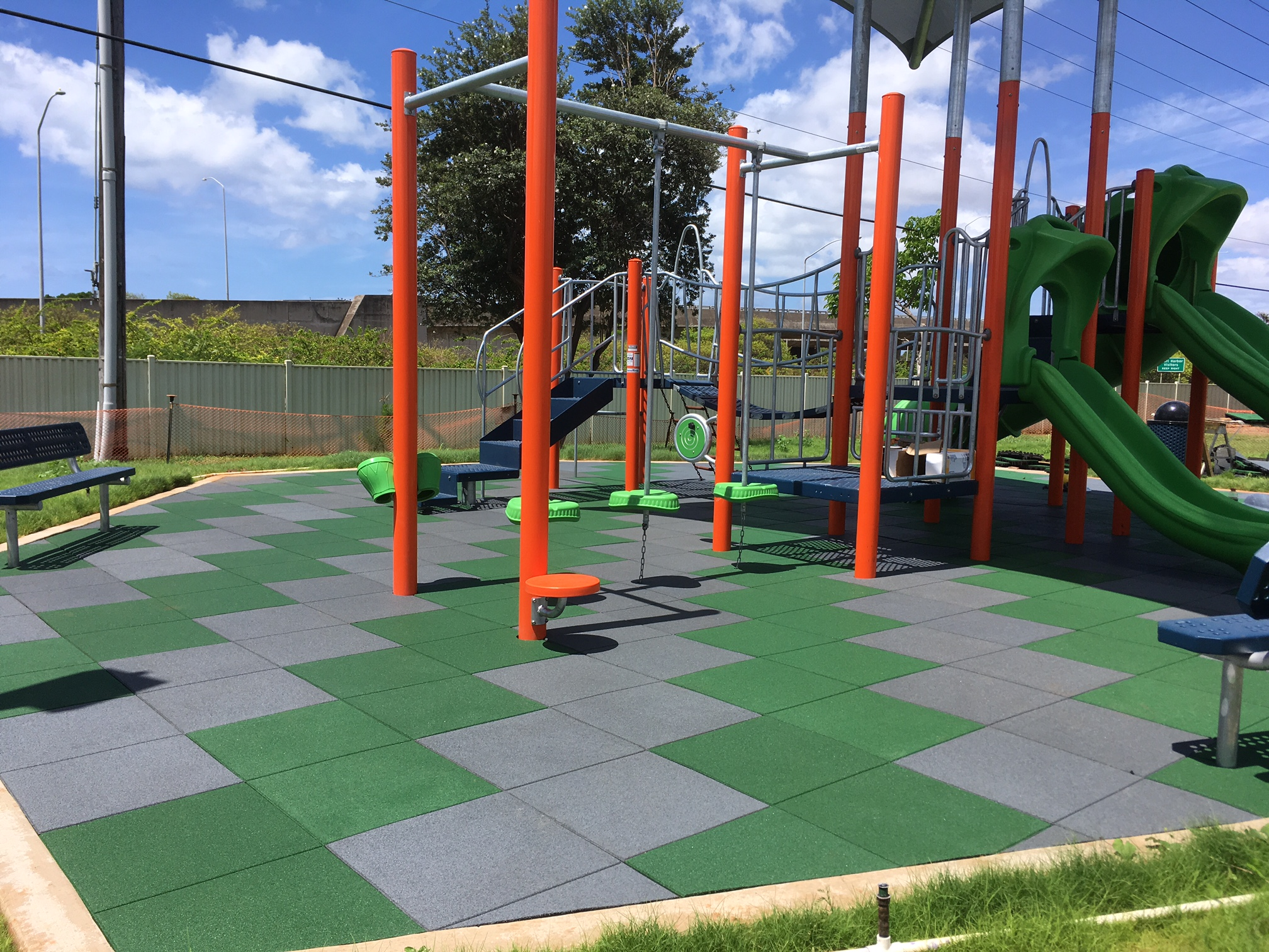 Unity Playgrounds Rubber Mats Safety Surfacing