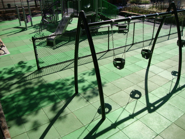 Playground Surfacing To Look Like Fresh Cut Grass