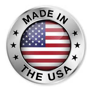 All of our recycled rubber products are manufactured in the USA
