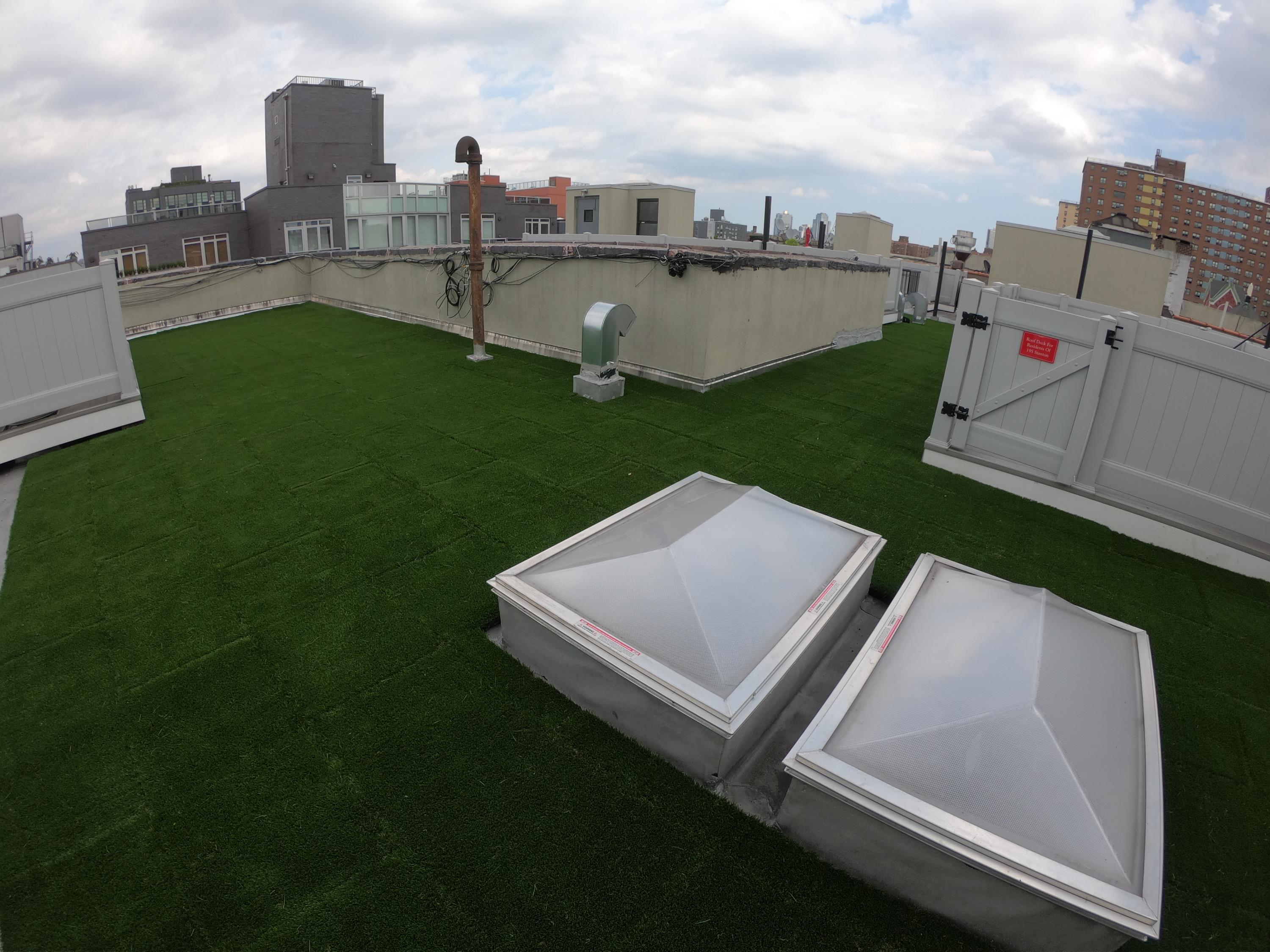 Artificial Turf Top Pavers for Rooftop Applications