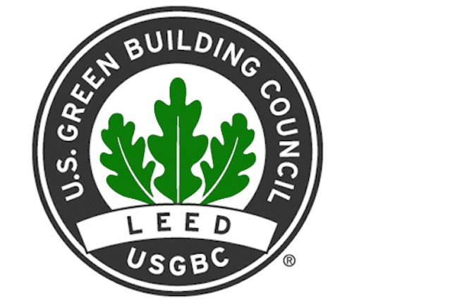 Showing our products comply with seven (7) USGBC-LEED points/credits