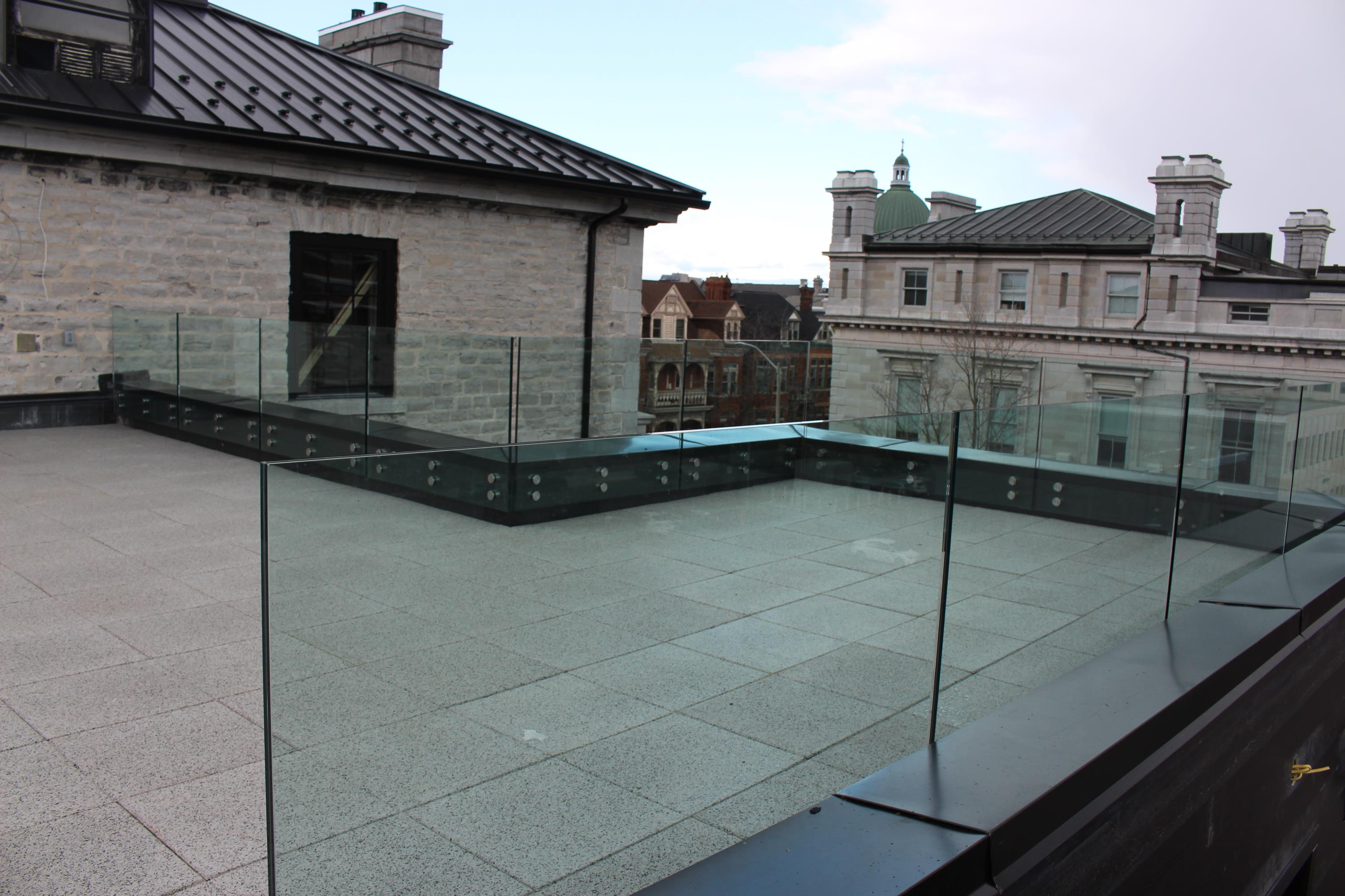 Rooftop Patio Area For Residents to use in this High Rise Apartment Building