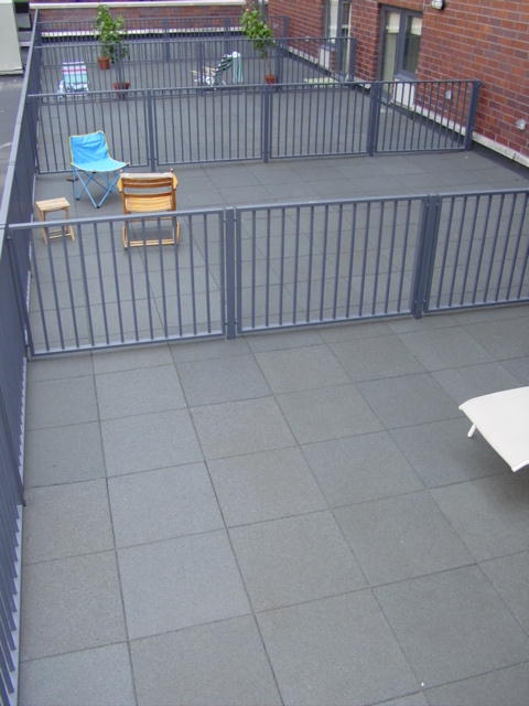 Captivating Thank You For The Rubber Pavers You And Your Company Supplied And Installed  On Our Rooftop Patio. The Over Whelming Compliments We Are Receiving Is  Amazing.