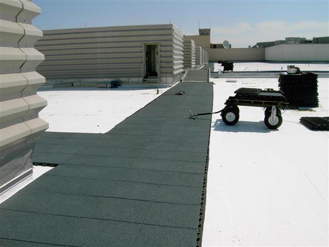 Roof Pad Amp Roof Walkway Pad Black Symar Rubber 30x30 X 5